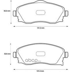 Комплект тормозных колодок, дисковый тормоз (Jurid) 573011J