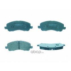 Колодки тормозные дисковые, комплект (Mintex) MDB2134