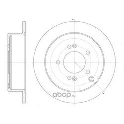 Тормозной диск (Remsa) 675600