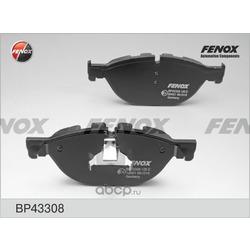 Комплект тормозных колодок, дисковый тормоз (FENOX) BP43308