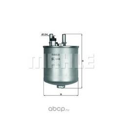 Топливный фильтр (Mahle/Knecht) KL639D