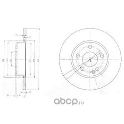 Тормозной диск (Delphi) BG3840
