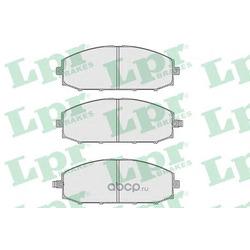 Комплект тормозных колодок, дисковый тормоз (Lpr) 05P845