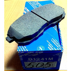 Колодки тормозные дисковые c датчиком изноза, комплект (Kashiyama) D1241M