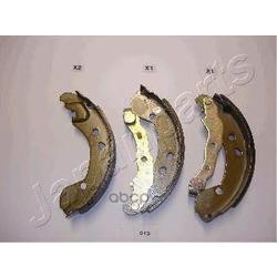 Комплект тормозных колодок (Japanparts) GF013AF