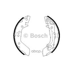 Комплект тормозных колодок (Bosch) 0986487655