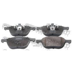 Колодки тормозные дисковые передние комплект (Febest) 0501CRF