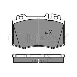 Комплект тормозных колодок, дисковый тормоз (Meyle) 0252327117
