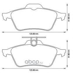 Комплект тормозных колодок, дисковый тормоз (Jurid) 573186J