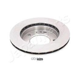 Тормозной диск (Japanparts) DIK09