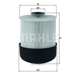 Топливный фильтр (Mahle/Knecht) KX33828D