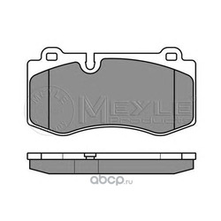 Комплект тормозных колодок, дисковый тормоз (Meyle) 0252396018