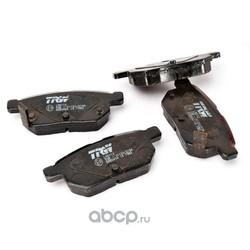 Колодки тормозные задние (TRW/Lucas) GDB3454