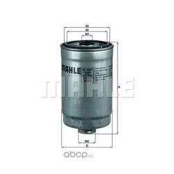 Топливный фильтр (Mahle/Knecht) KC1011