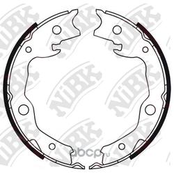 Колодки стояночного тормоза (NiBK) FN0621