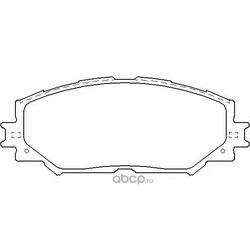 Колодки тормозные дисковые TEXTAR (Textar) 2433601