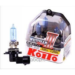 Лампа высокотемпературная Koito Whitebeam, комплект 2 шт. (KOITO) P0756W
