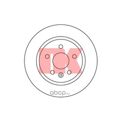 Диск тормозной зад.NK (Nk) 205014