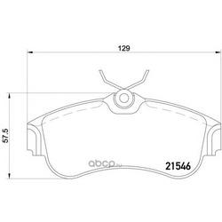 Колодки тормозные дисковые TEXTAR (Textar) 2154601