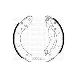 Комплект тормозных колодок (Metelli) 530351