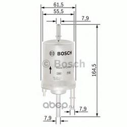 Фильтр топливный (Bosch) 0450905959
