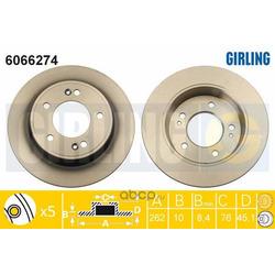 Тормозной диск (Girling) 6066274
