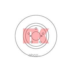 Диск тормозной зад.NK (Nk) 204406