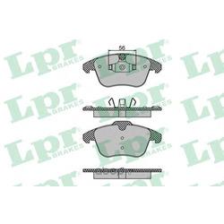 Комплект тормозных колодок, дисковый тормоз (Lpr) 05P1480