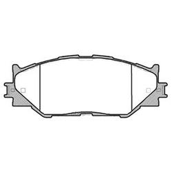 Колодки тормозные дисковые (FIT) FP1075