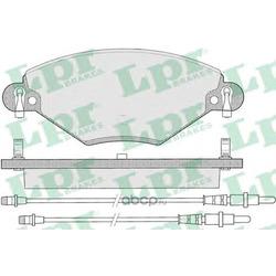 Комплект тормозных колодок, дисковый тормоз (Lpr) 05P793