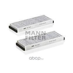 Фильтры салона комплект, угольные (MANN-FILTER) CUK30232