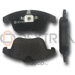 Колодки тормозные передние (Dextrim) DX7FD175