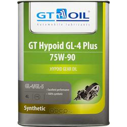 GT Hypoid GL-4 Plus, SAE 75W-90,4л (GT OIL) 8809059407998