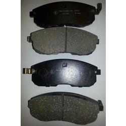 Колодки тормозные дисковые c датчиком изноза, комплект (Kashiyama) D1119M