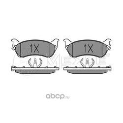 Комплект тормозных колодок, дисковый тормоз (Meyle) 0252318917W