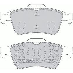Комплект тормозных колодок, дисковый тормоз (Ferodo) FDB1540
