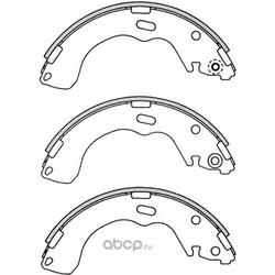 Колодки тормозные дисковые (FIT) FT5235