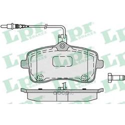 Комплект тормозных колодок, дисковый тормоз (Lpr) 05P1196