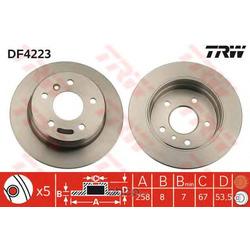 Тормозной диск (TRW/Lucas) DF4223