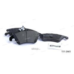 Тормозные колодки дисковые передние (Ween) 1512665