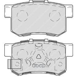 """Колодки тормозные дисковые задние, комплект """"Premier (Ferodo) FDB4227"""