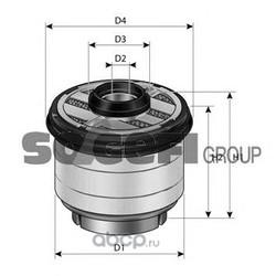 Топливный фильтр (PURFLUX) C823