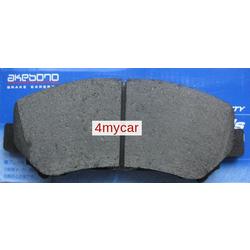 Колодки тормозные дисковые передние (Akebono) AN751WK