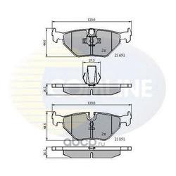 Комплект тормозных колодок, дисковый тормоз (Comline) CBP01011