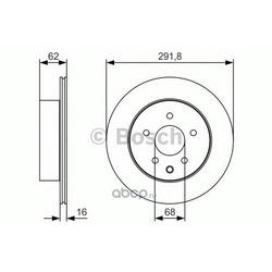 Тормозной диск (Bosch) 0986479S31