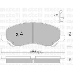 Комплект тормозных колодок, дисковый тормоз (Metelli) 2204810