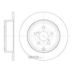 Тормозной диск (Remsa) 670000
