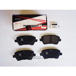 Комплект тормозных колодок, дисковый тормоз (UBS) BP1105007