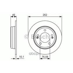 Тормозной диск (Bosch) 0986479052