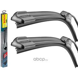 Набор щёток стеклоочистителя A523S Aerotwin, бескаркасные 650мм/450мм, крепление Side Pin (Bosch) 3397007523
